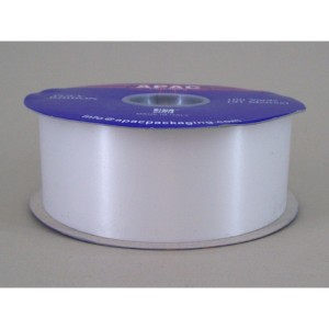 Florist Supplies UK Poly Ribbon White-600×600