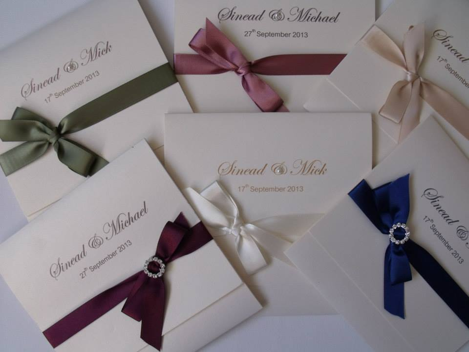 Tying The Knot Wedding Invitations Cork Weddings Events